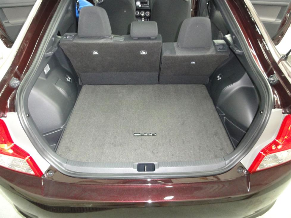 scion tc cargo area subwoofer
