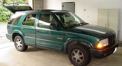 1998-2005 Chevrolet S-10 Blazer, GMC Jimmy, and Oldsmobile Bravada