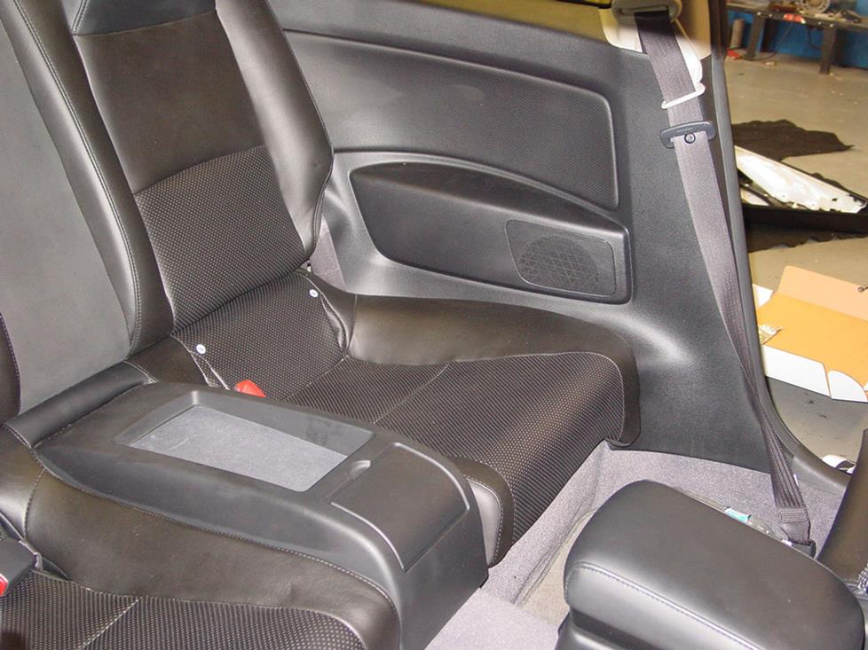 Infiniti G35 Coupe Car Seat Covers - Velcromag