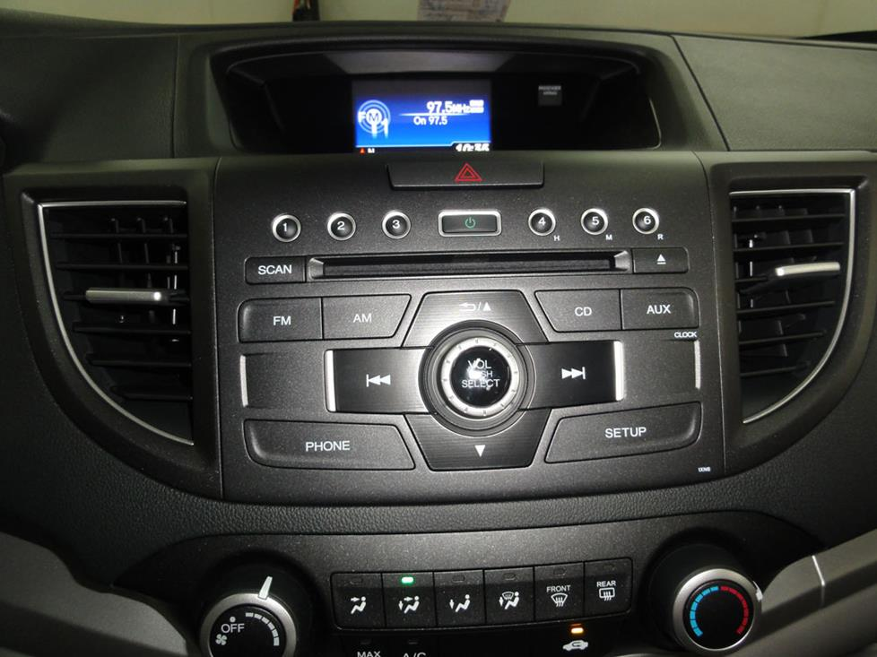 honda CR-V stock radio