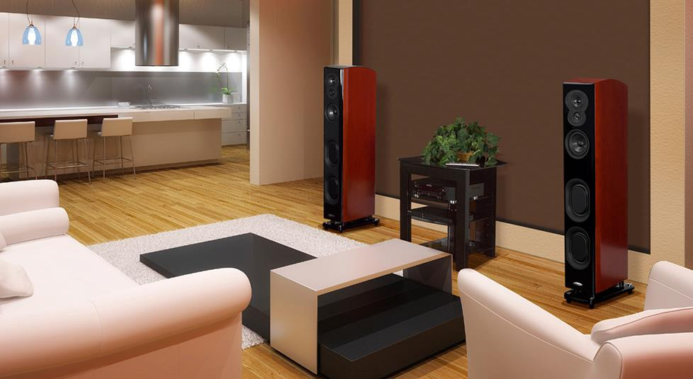 Polk Audio LSi M 705 floor-standing speakers