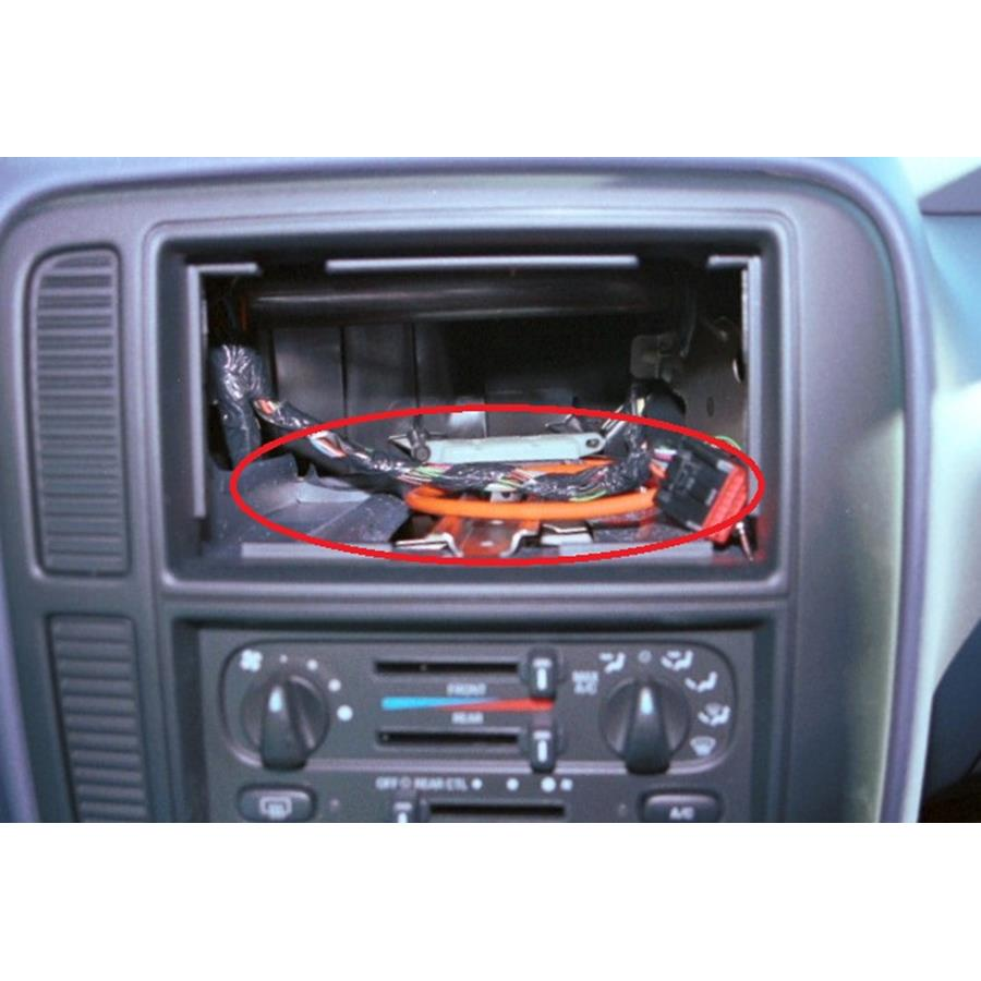 2003 Ford Windstar You'll have to modify your vehicle's sub-dash to install a new car stereo.