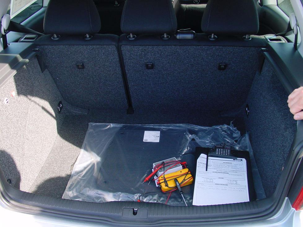 vw golf gti trunk