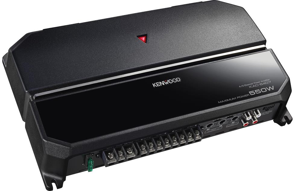 Kenwood KAC-6407 4-channel car amplifier