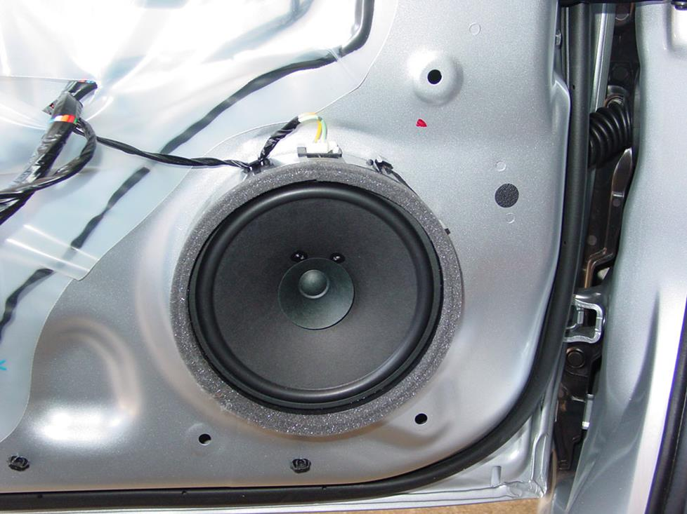 mitsubishi lancer front door speaker