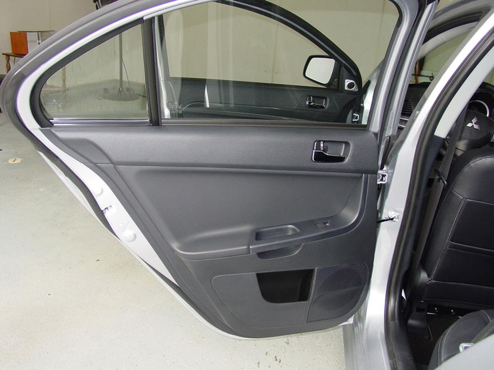 mitsubishi lancer rear door speaker