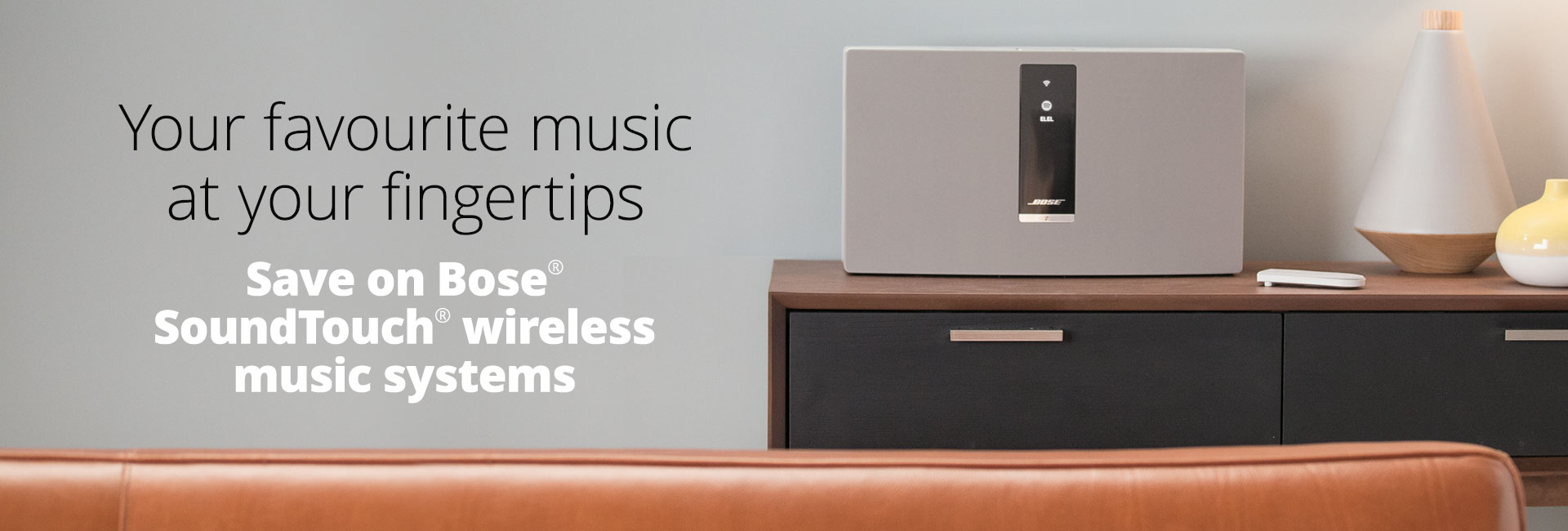 Save on Bose® SoundTouch® products