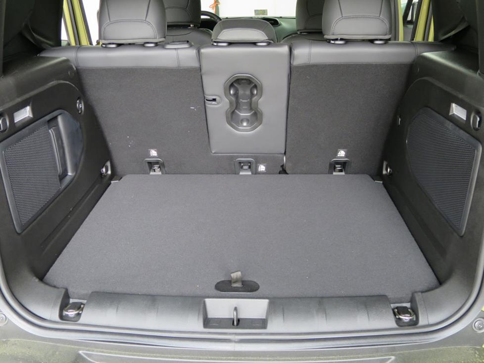jeep renegade cargo area