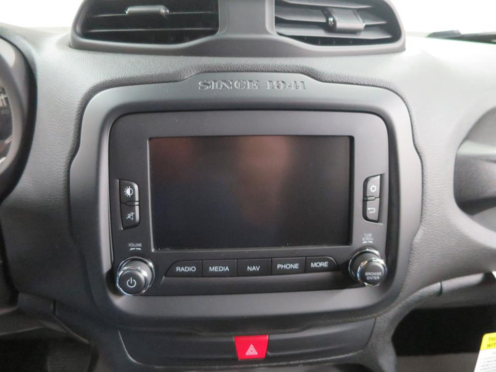 jeep renegade receiver
