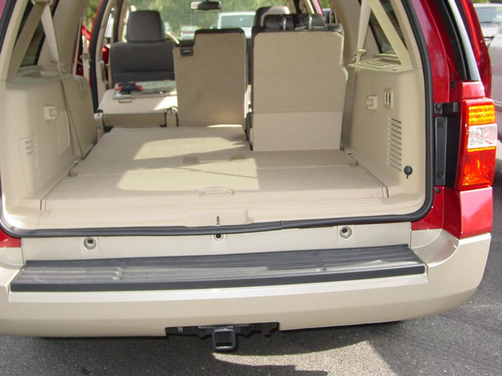 ford expedition cargo area