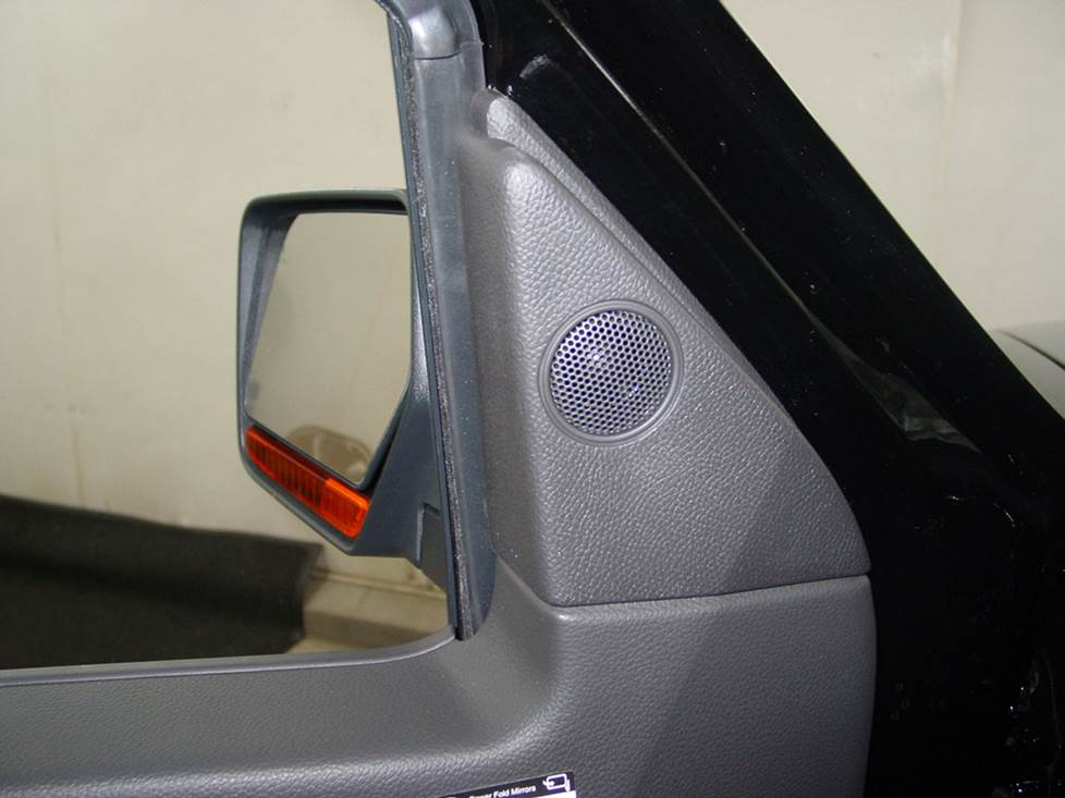 lincoln navigator front door tweeter