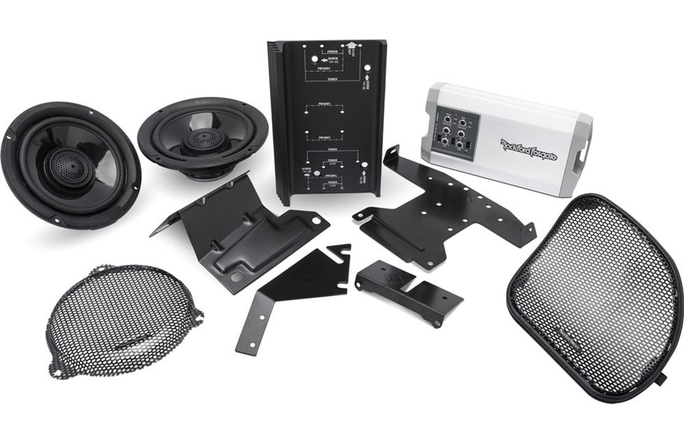 Rockford Fosgate HD14-TKIT motorcycle kit