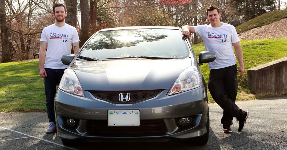Leo, Michael, and the Honda Fit
