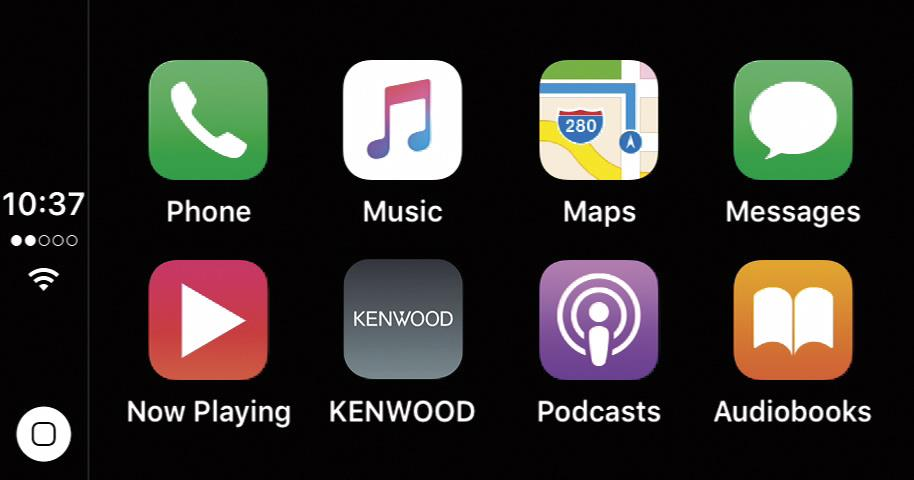 Apple CarPlay for Kenwood Excelon DDX9904S DVD receiver