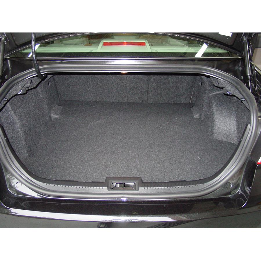 2012 Ford Fusion Cargo space