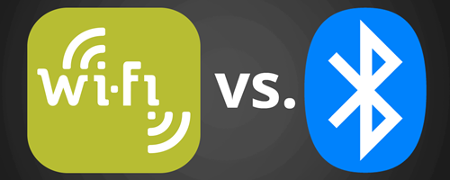 Wi-Fi vs. Bluetooth for streaming music