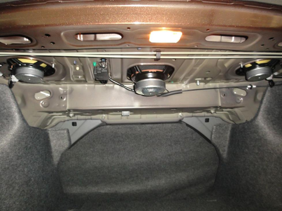 honda accord rear deck speakers