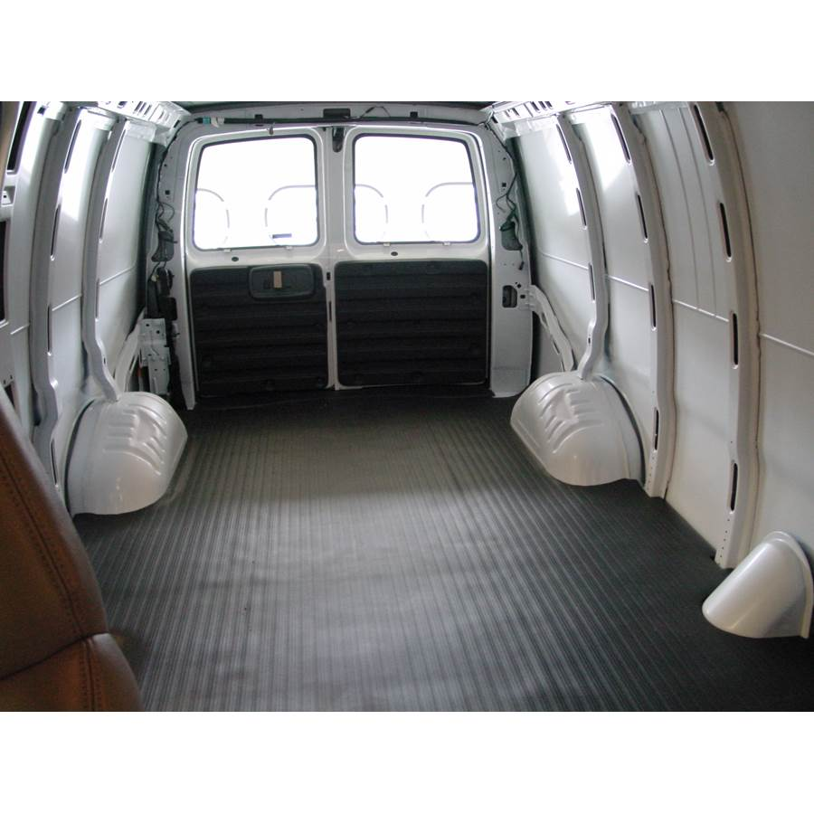 2001 Chevrolet Express Cargo space