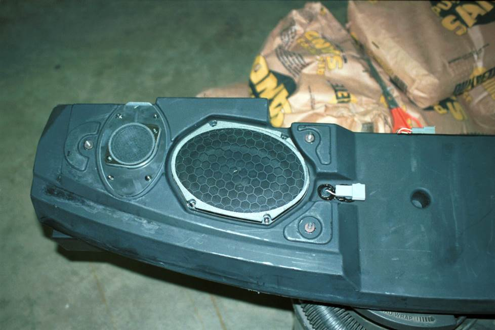 ford mustang mach 460 rear deck speaker