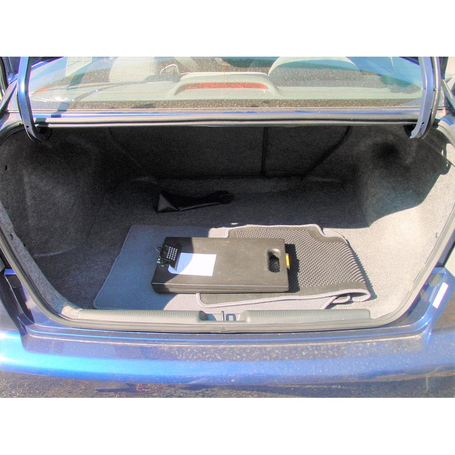 2005 Honda Civic Special Edition Cargo space