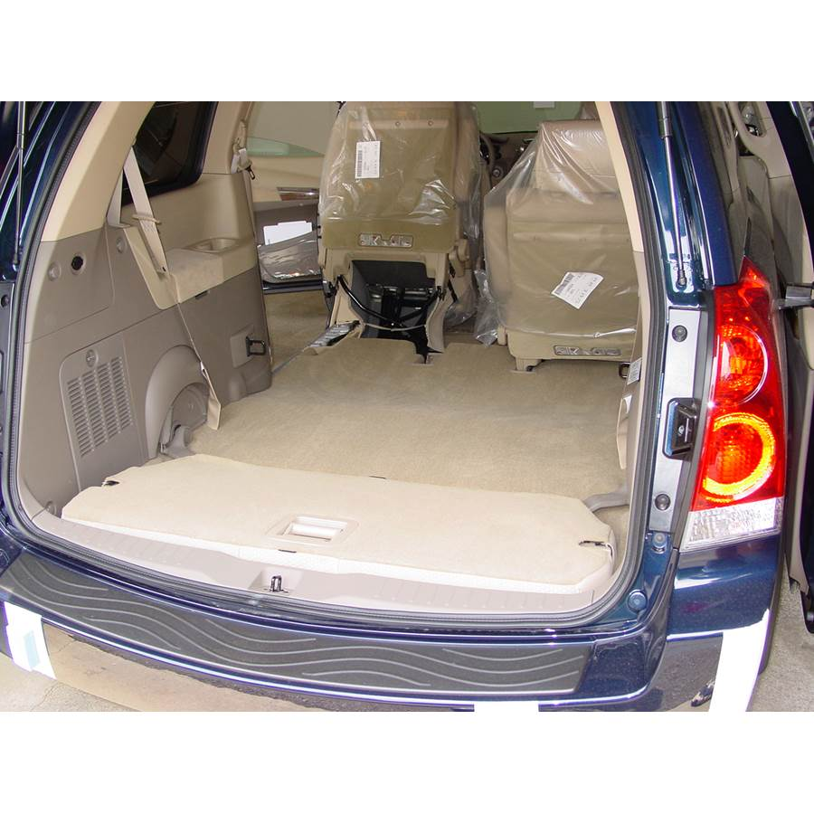 2008 Nissan Quest Cargo space