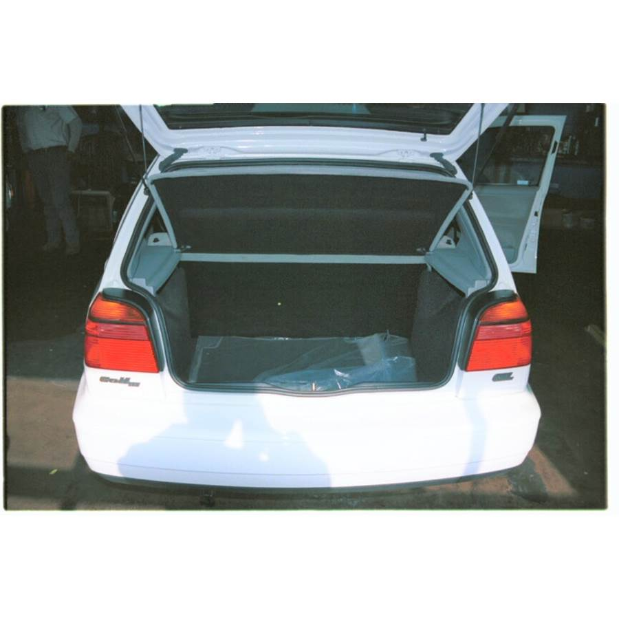 1997 Volkswagen Golf III Cargo space