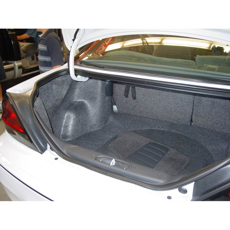 2001 Pontiac Grand Am Cargo space