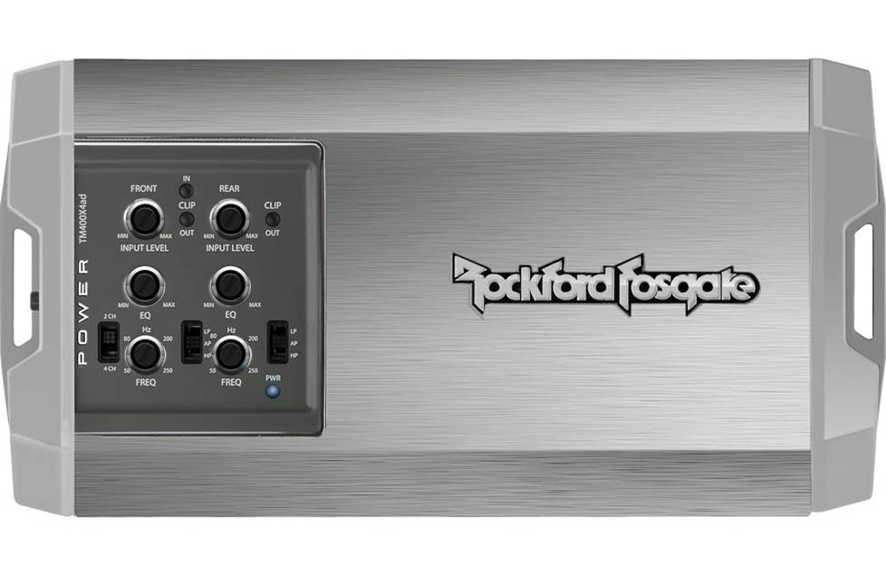 Rockford Fosgate Power Series TM400X4ad 4-channel amplifier