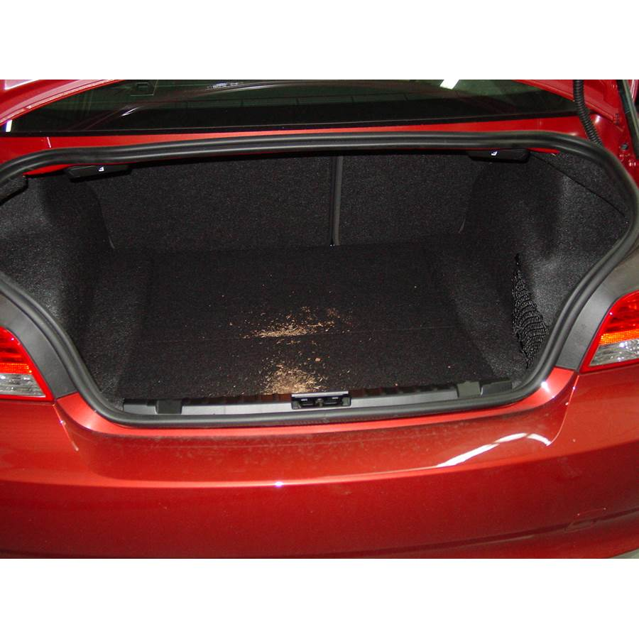 2011 BMW 1 Series Cargo space
