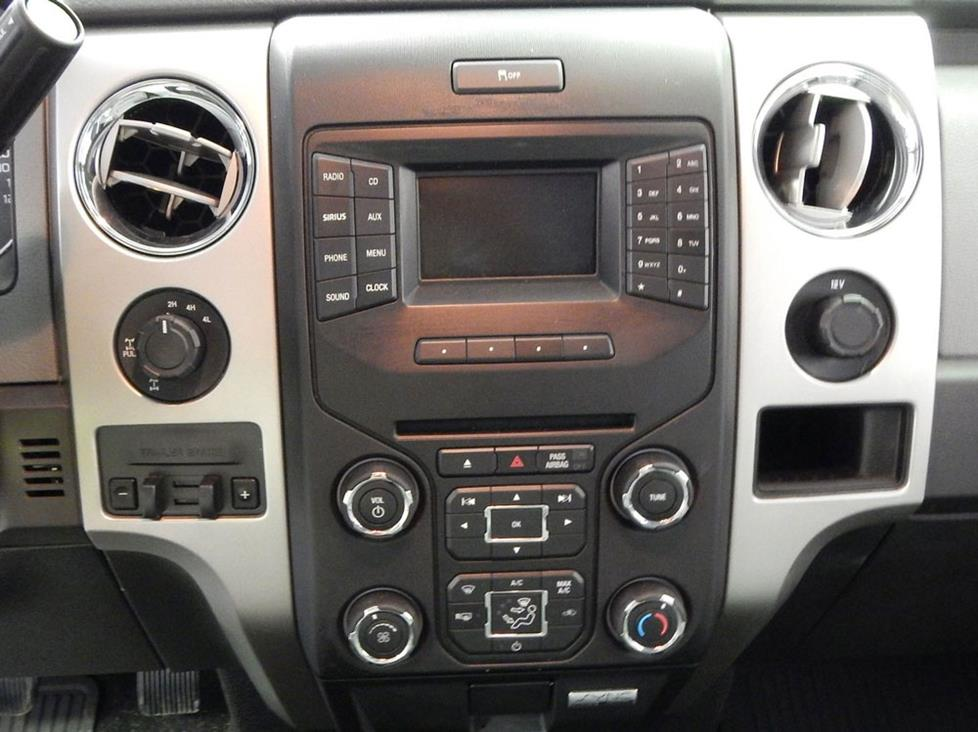 2013-2014 ford f-150 factory radio lcd