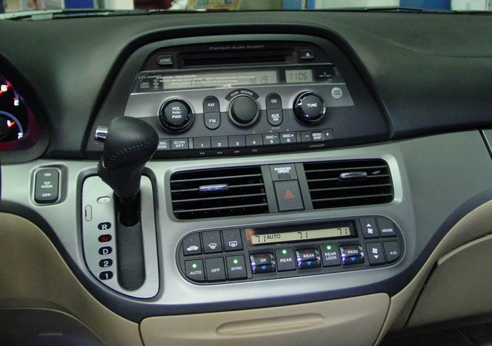 Honda Odyssey Base Factory Radio