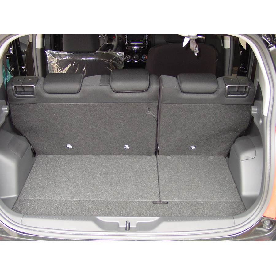 2008 Scion xD Cargo space