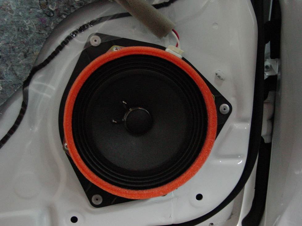 toyota matrix jbl front door speaker