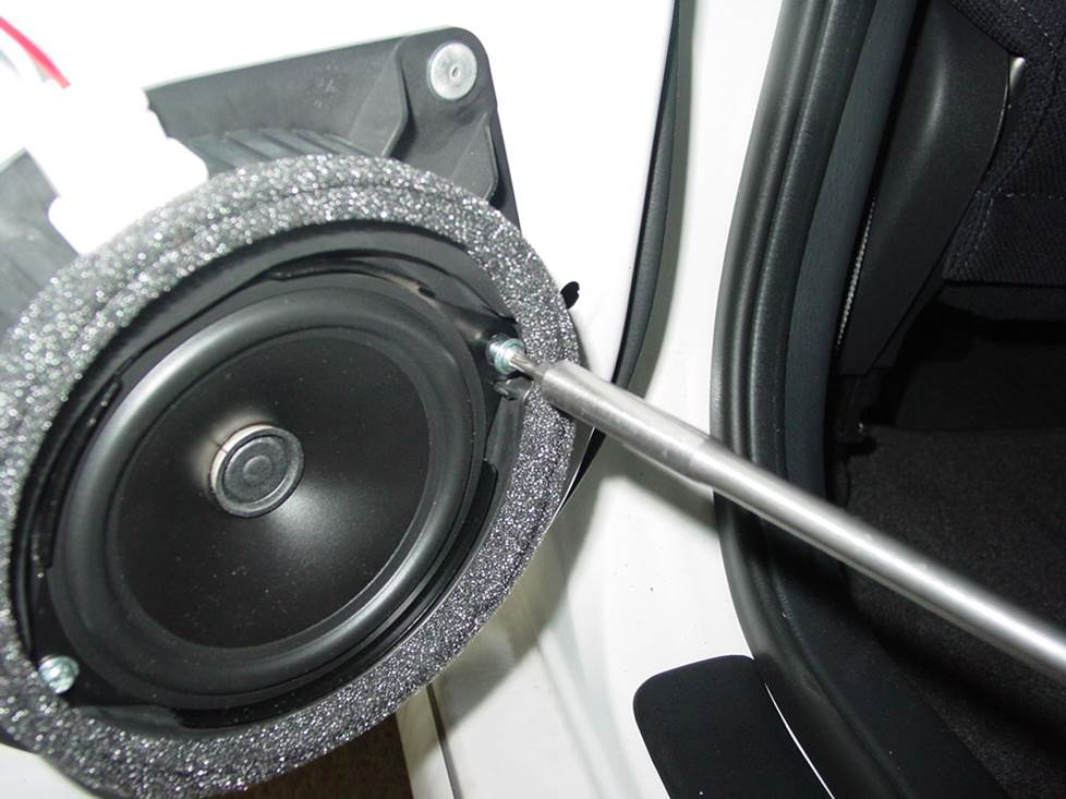toyota matrix rear door speaker