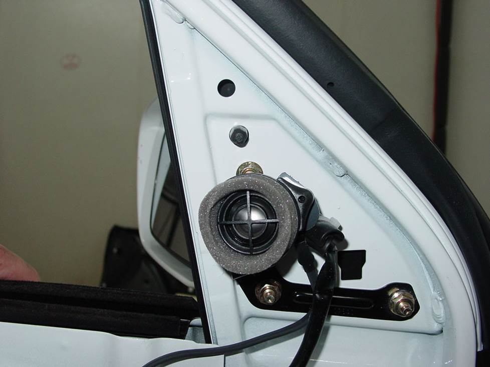 toyota matrix tweeter