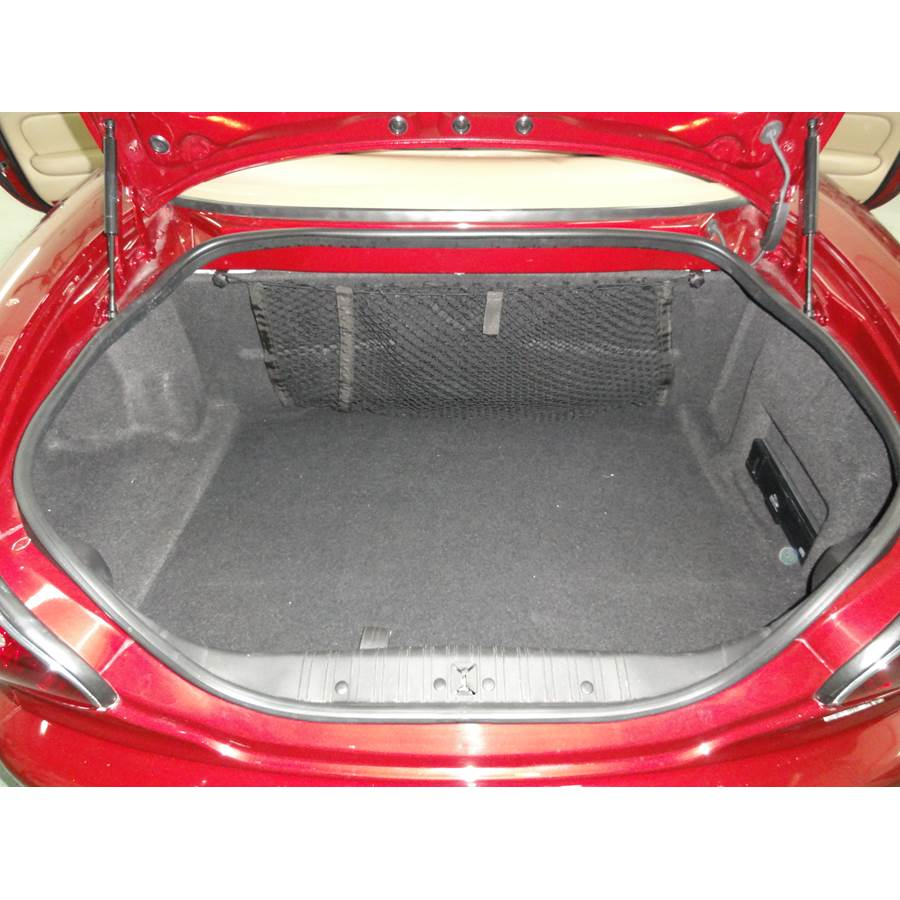 2001 Jaguar XK8 Cargo space