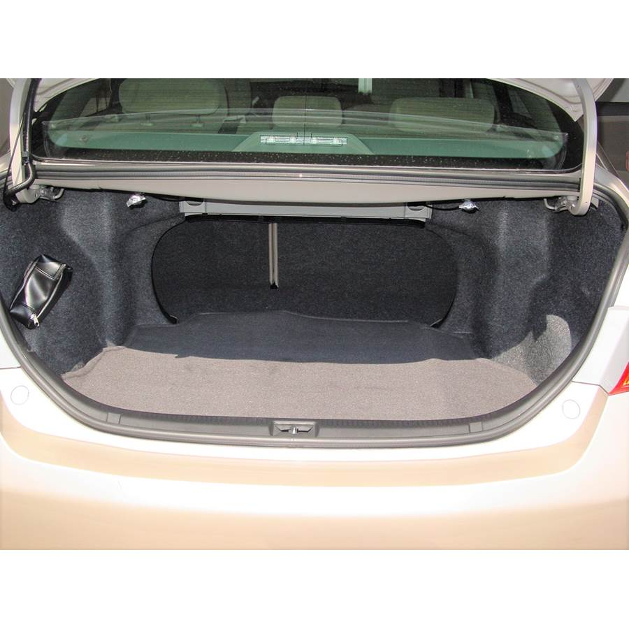2010 Toyota Camry Cargo space