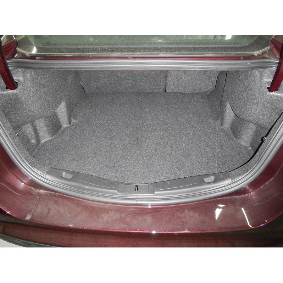 2013 Ford Fusion Cargo space