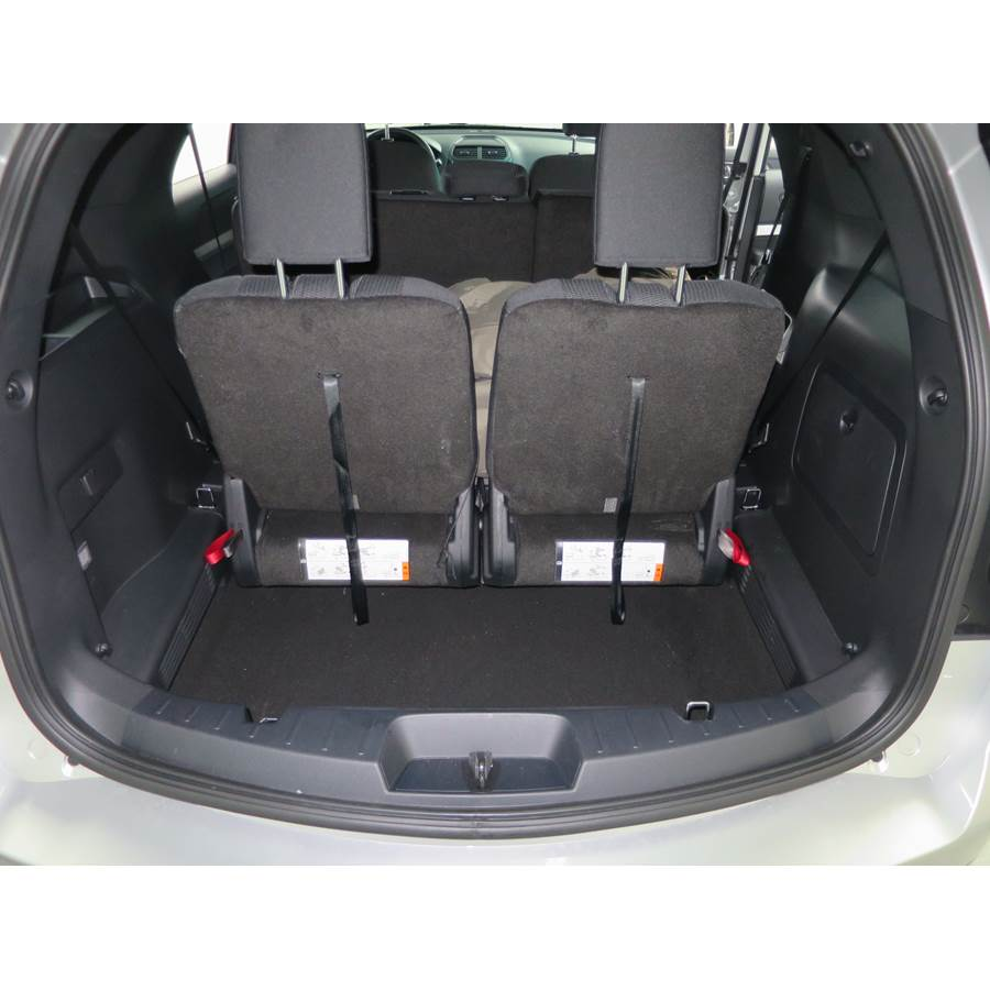 2016 Ford Explorer Cargo space