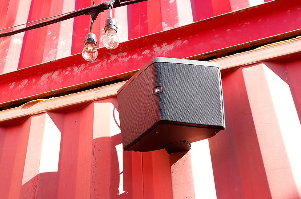 70-volt outdoor speakers