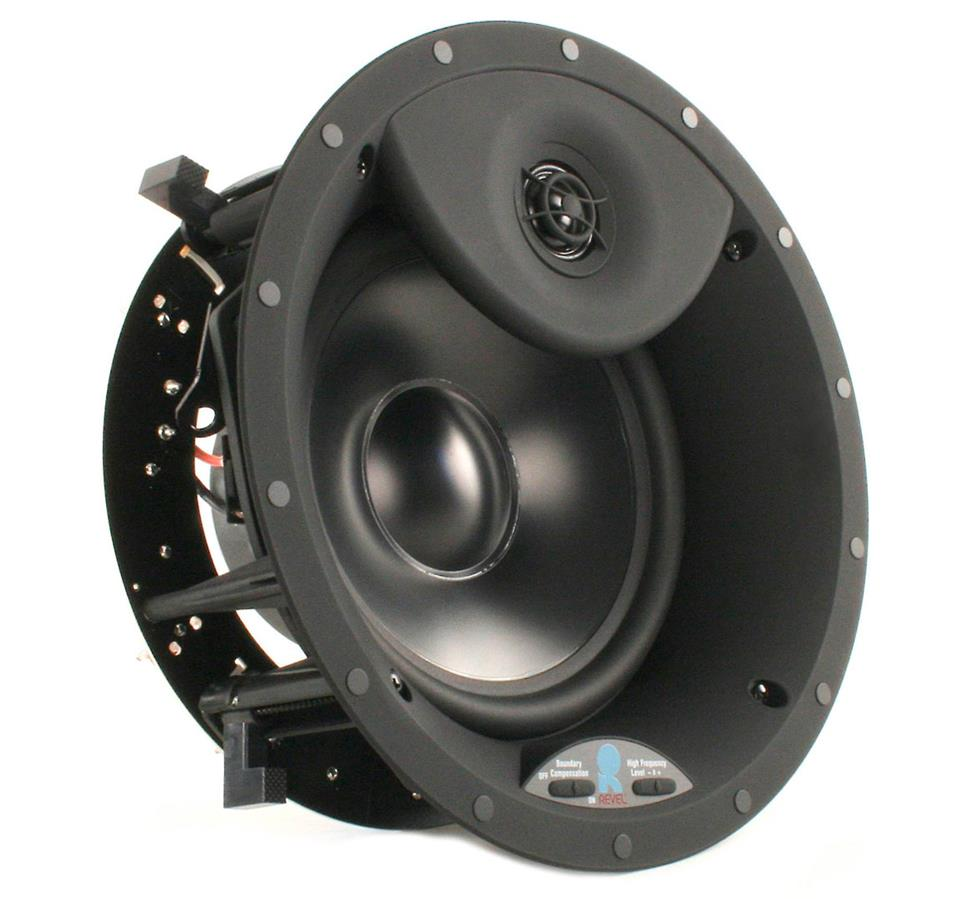 Revel C783 in-ceiling speaker with tone controls