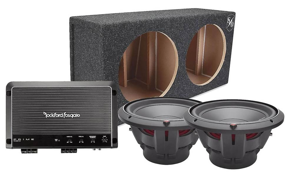 Rockford Fosgate package.