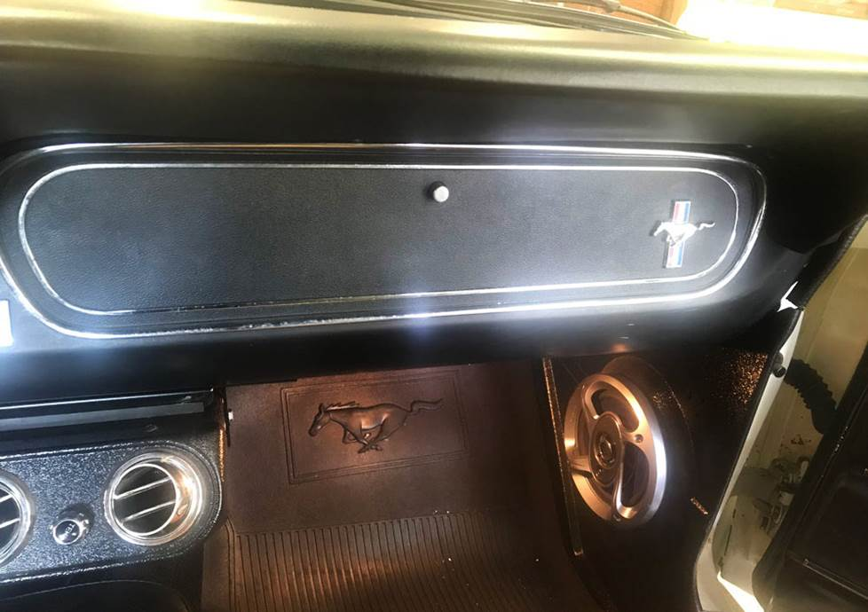 ford mustang glovebox