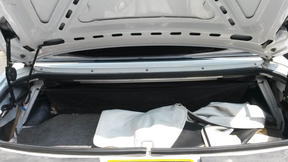 ford mustang trunk