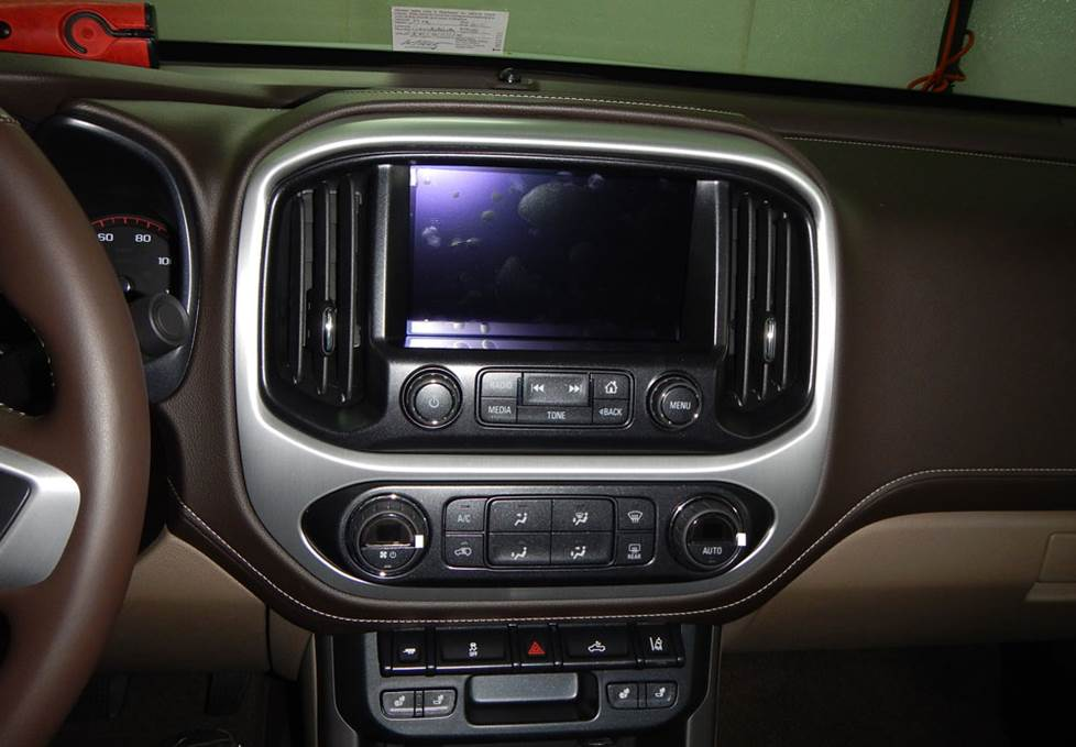 chevy colorado gmc canyon radio