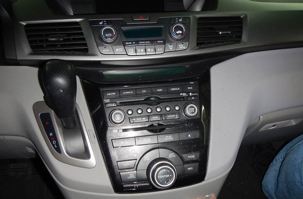 honda accord base radio