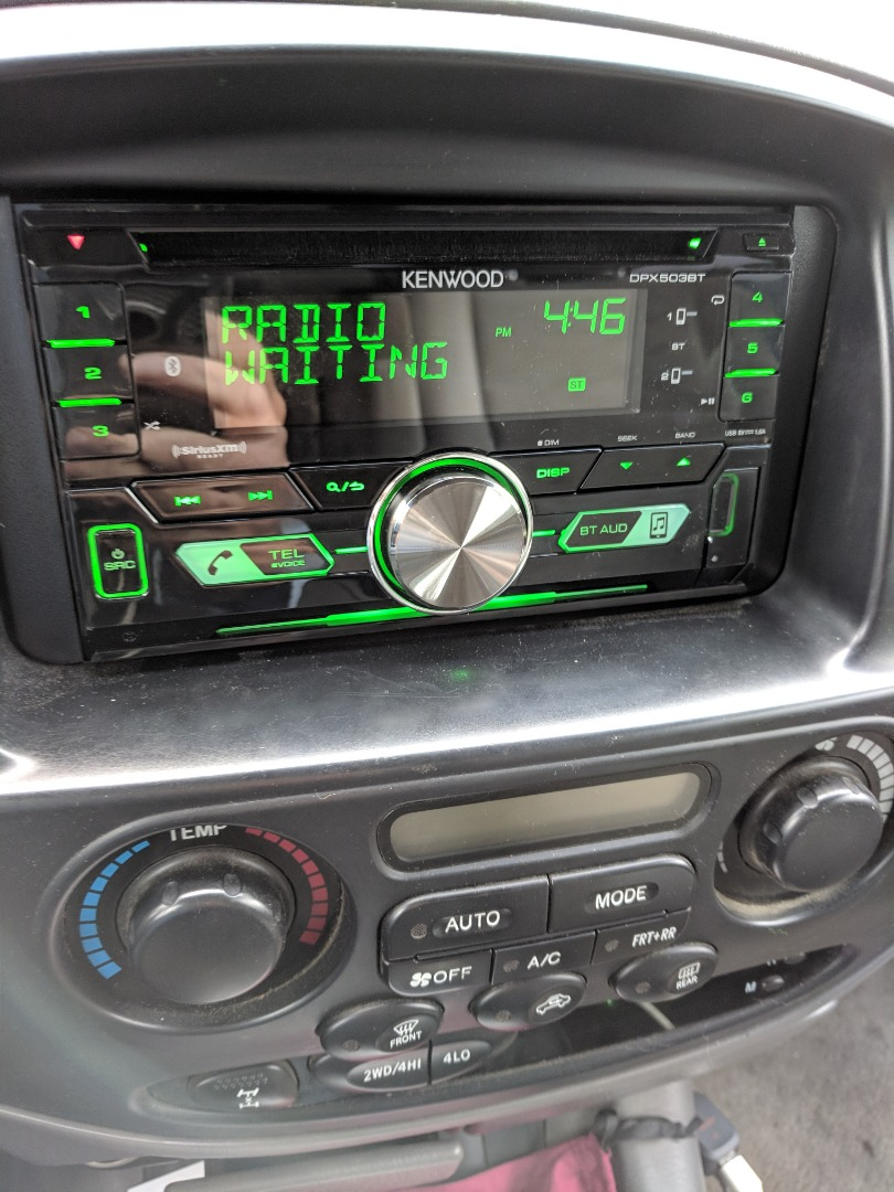 Kenwood DPX503BT CD receiver at Crutchfield Canada