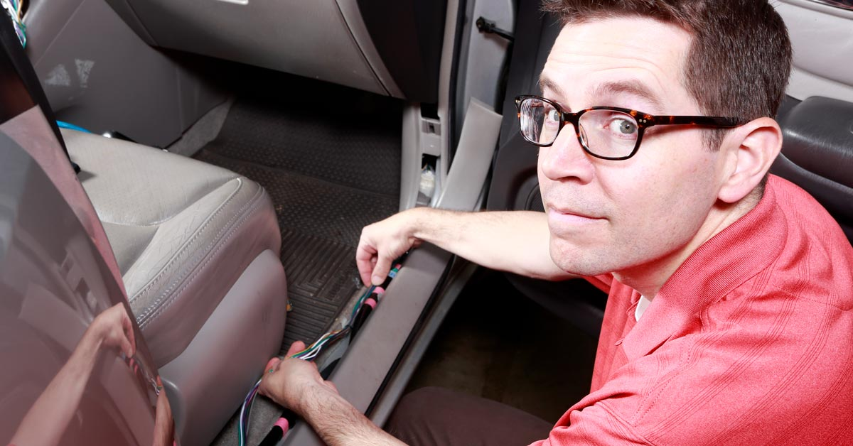 installing a car stereo in a vehicle with a factory amp