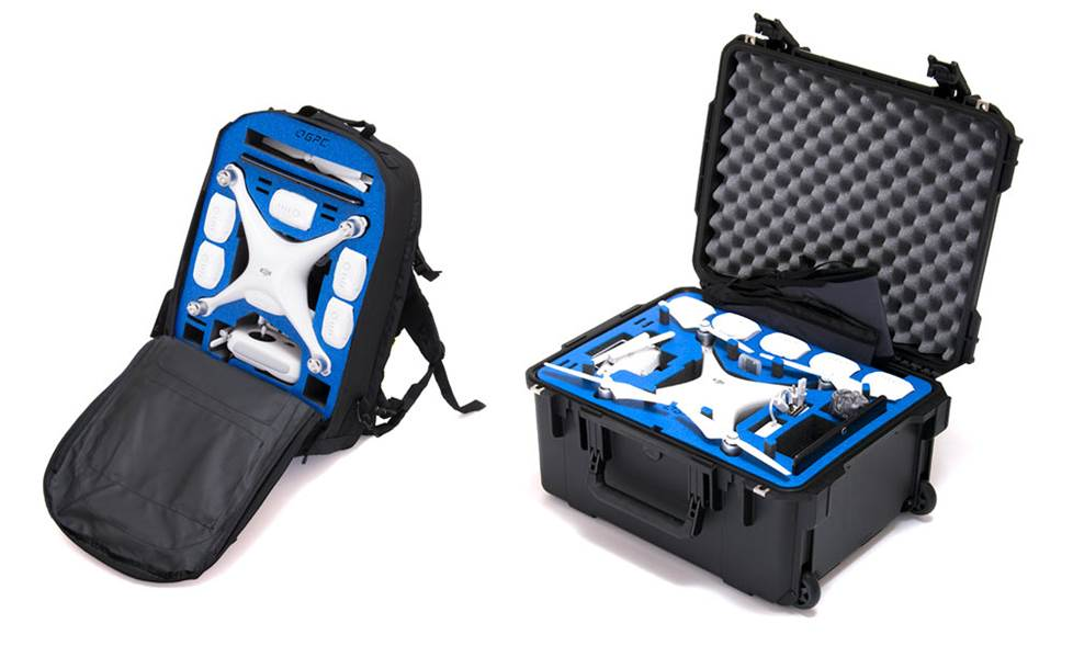 GPC backpack and carrying case