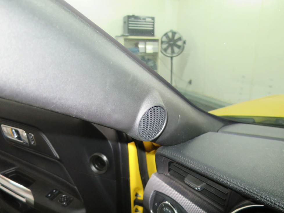 ford mustang front pillar tweeter
